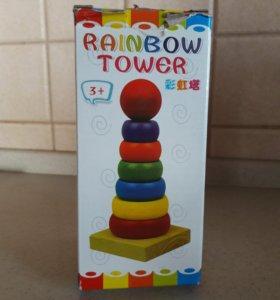 Новая игрушка развивающая пирамида