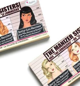 Хайлайтер TheBalm Manizer Sisters, 3 цвета