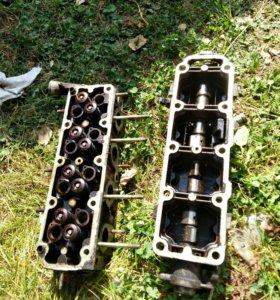 Блок целиндров,головка двигателя на деу нексия