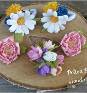Цветочки из фоамирана