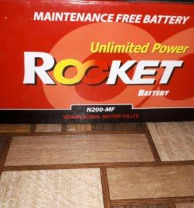 Аккумулятор Rocket 200 новый
