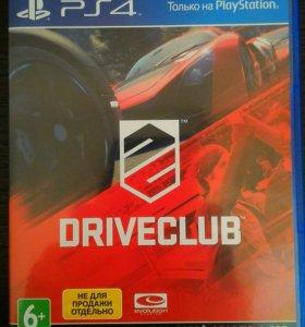 Игра DriveClub для Play Station 4