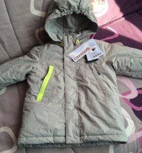 Куртка crockid зима 116-122 новая
