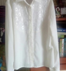 Белая блузка 152