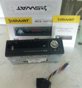 Продам автомагнитолу SWAT MEX-1007UBB