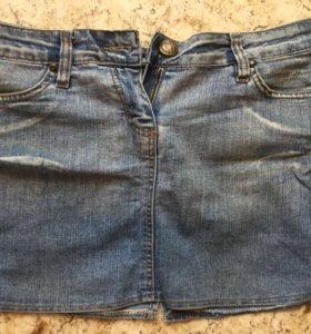 Юбка джинсовая 30 размер