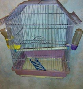 Клетка для попугая(можно для грызунов)
