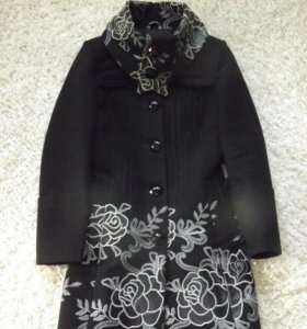 Драповое пальто осень -весна