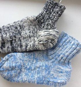 Шерстяные носочки (новые)