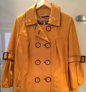 Куртка женская, кожаная, р-о 46-48, рост 160-163см