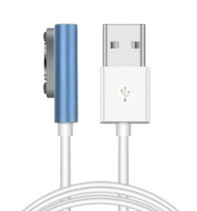 Магнитный кабель Sony к телефону, планшету зарядка