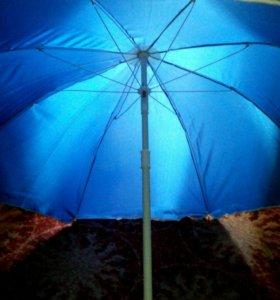 зонт семейный пляжный