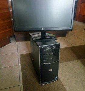 Четырехядерный компьютер + Монитор