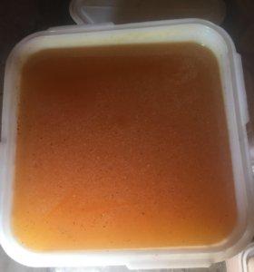 Мёд майский, разнотравье (колеандр), подсолнух