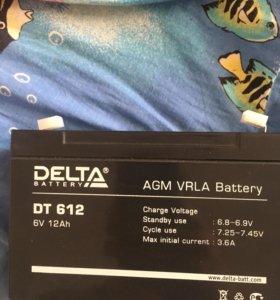 Аккумулятор delta dt 612 12000 Mah