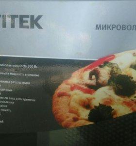 Микроволновая печь vitek б/у