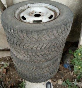 Зимние колёса 175/70R13