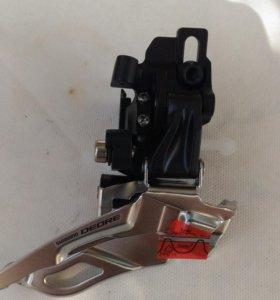 Передний переключатель Shimano Deore M610 новый
