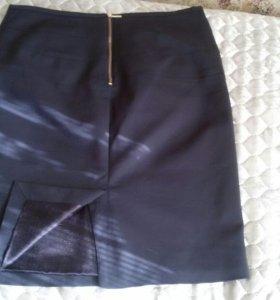 Женский летний костюм плюс юбка демисезонная