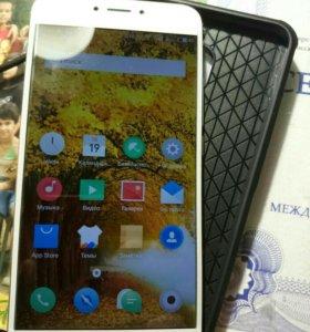 Meizu MX6 white+gold 4gb RAM+гарантия на 3года