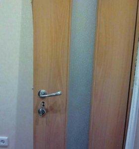 Дверь меж комнатная на 60 с замком