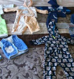 Вещи для мальчика от 0 до 1 года
