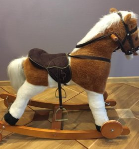 Конь-каталка, качалка