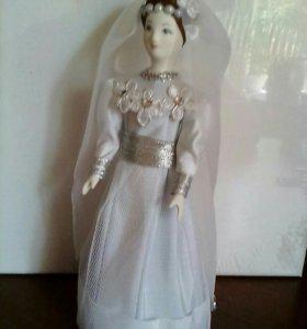 "Фарфоровая кукла ""Невеста""."