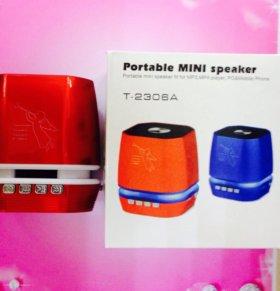 Новые Bluetooth колонки Т2306-02
