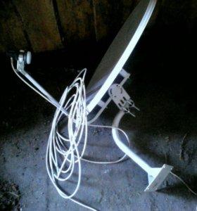 Антена с приставкой