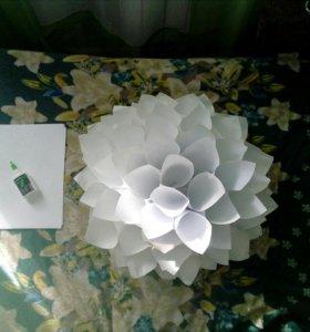 Бумажные цветы на заказ