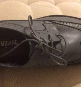 Кожаные туфли!!!НОВЫЕ!!!!