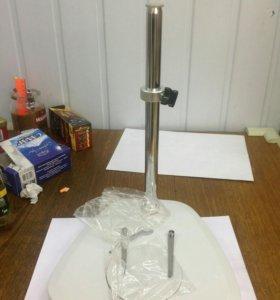 Новая стойка для микроскопа