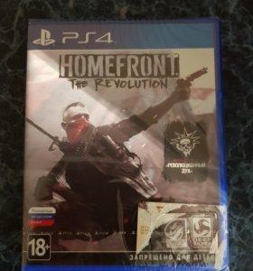 Homefront The Revolution новая ps4