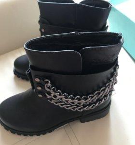 Полусапожки ботинки HERMES