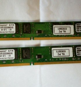DDR3 Kingston 4Гб
