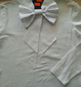 Блузка бадлон школьная