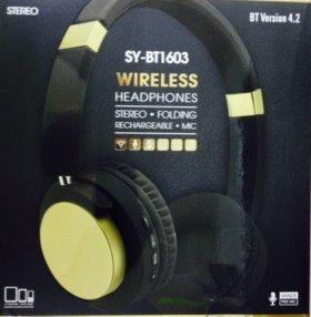 Новые Bluetooth-наушники 1603-04 Wireless