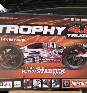 Радиоуправляемая модель HPI Trophy Truggy 4.6