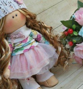 Интерьерные куклы ручной работы.