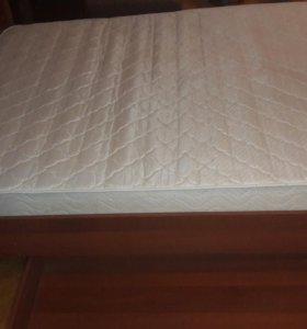 Кровать с ортопедическим матрасом + доставка