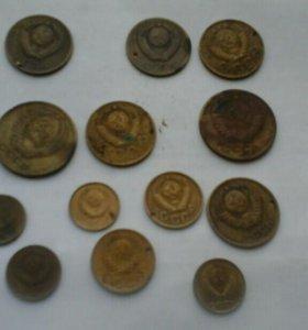 Монеты СССР с 1940-1990