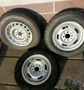 3  колеса R13