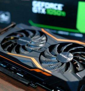 "GIGABYTE ""GeForce GTX 1050 Ti G1 Gaming 4G 4ГБ"""