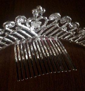Серьги и корона