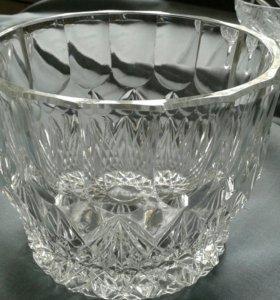 Хрустальная ваза (салатник)