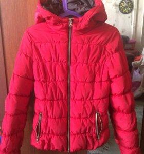 Очень тёплая и красивая зимняя куртка Ostin