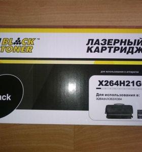 Тонер-картридж HI-black (HB-X264H21G) для lexmark