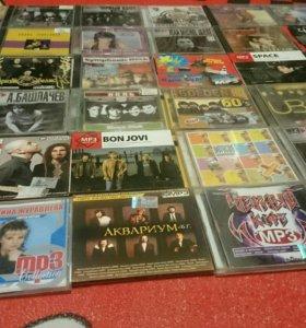 50 дисков. Коллекция  CD MP3