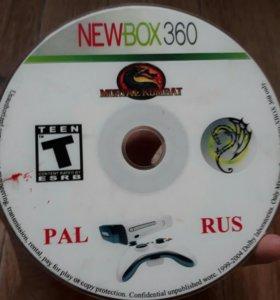 Игра мортал кобат 9 на xbox360